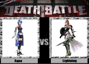 Death Battle: Aqua VS Lightning