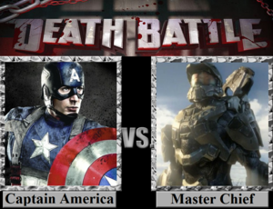 Death Battle: Captain America VS Master Chief