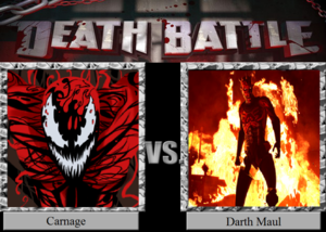 Death Battle: Carnage VS Darth Maul