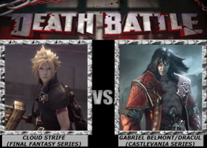 Death Battle: awan Strife VS Gabriel Belmont/Dracula