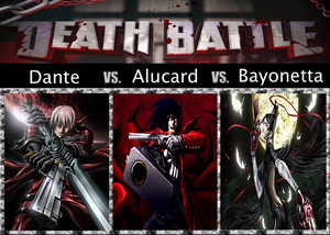 Death Battle: Dante VS Alucard VS Bayonetta