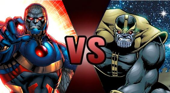 Death Battle: Darkseid VS Thanos - NeoNightclaw19 Fan Art