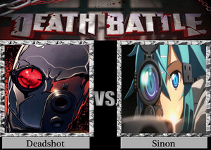 Death Battle: Deadshot VS Sinon