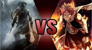 Death Battle: Dovhakiin VS Natsu Dragneel