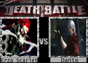 Death Battle: Erza Scarlet VS Dante