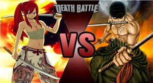 Death Battle: Erza Scarlet VS Roronoa Zoro