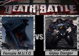 Death Battle: Female MUTO VS Gypsy Danger