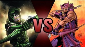 Death Battle: Green Arrow VS Hawkeye