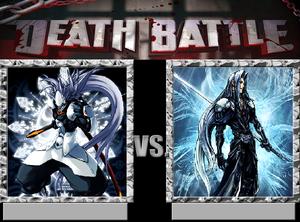 Death Battle: Hakumen VS Sephiroth
