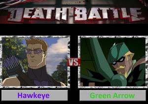 Death Battle: Hawkeye VS Green Arrow