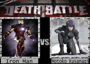 Death Battle: Iron Man VS Mokoto Kusanagi