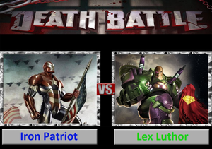 Death Battle: Iron Patriot VS Lex Luthor