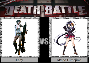 Death Battle: Lady VS Akeno Himejima
