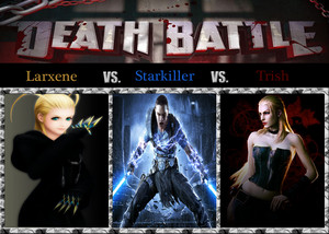Death Battle: Larxene VS Starkiller VS Trish