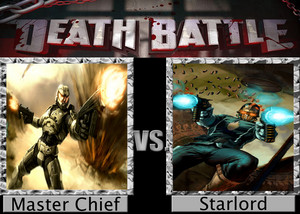 Death Battle: Master Chief VS Starlord
