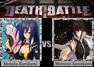 Death Battle: Medaka Kurokami VS Momoyo Kawakami