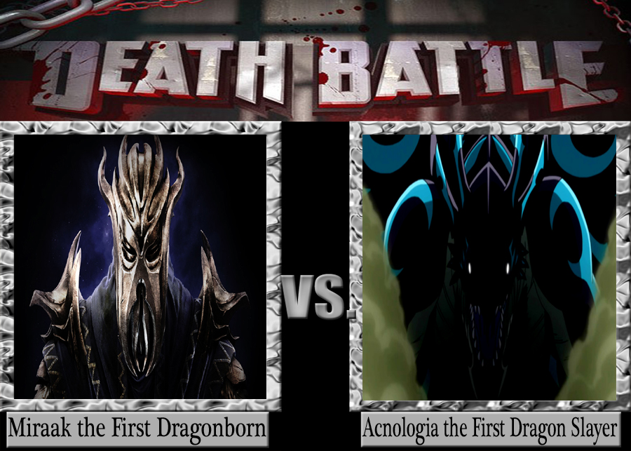 Death Battle: Miraak VS Acnologia - NeoNightclaw19 Fan Art