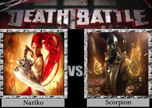 Death Battle: Nariko VS scorpion