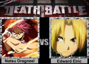 Death Battle: Natsu Dragneel VS Edward Elric