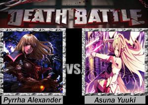 Death Battle: Pyrrha Alexander VS Asuna Yuuki