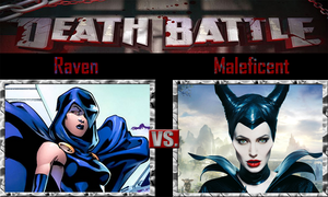 Death Battle: Raven VS Maleficent
