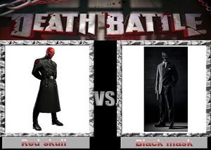 Death Battle: Red Skull VS Black Mask