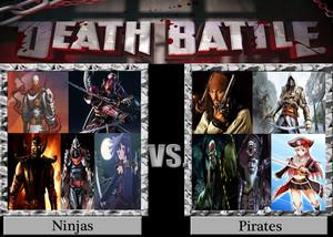 Death Battle Royale: Ninjas VS Pirates