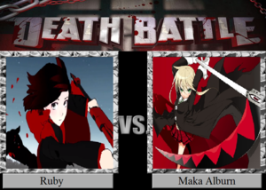 Death Battle: Ruby Rose VS Maka Albarn