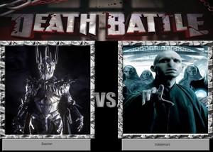 Death Battle: Sauron VS Voldemort