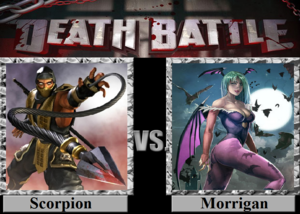 Death Battle: scorpion VS Morrigan