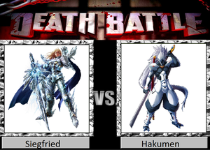 Death Battle: Siegfried VS Hakumen