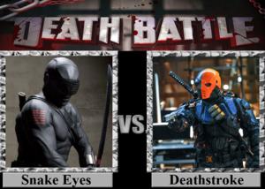 Death Battle: Snake Eyes VS Deathstroke