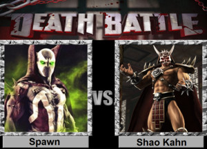 Death Battle: Spawn VS Shao Kahn