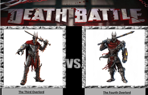 Death Battle: THe Third Overlord VS The Fourth Overlord