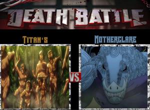 Death Battle: Titans VS Motherglare