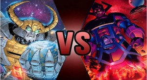 Death Battle: Unicron VS Galactus