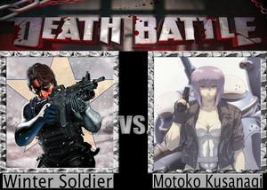 Death Battle: Winter Soldier VS Motoko Kusanagi