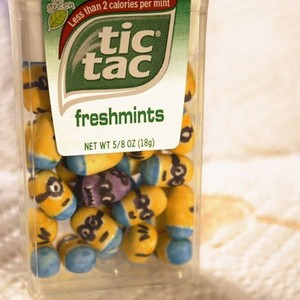 Despicable me tictacs!
