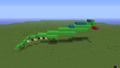 Dragon Practice Run. Day 1 progress - minecraft-pixel-art photo