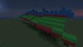 Dragon Practice Run. Day 2 Progress - minecraft-pixel-art photo