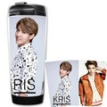 exo Kris starbucks coffee cup
