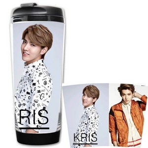 EXO Kris Starbucks coffee cup