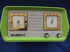 Vintage Radio And Television Images Electrotone Clock Wallpaper Background Photos