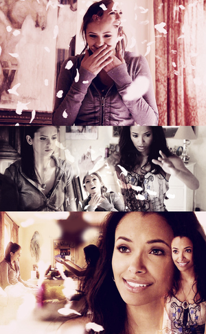 Elena and Bonnie