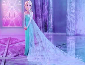 Elsa -Blue Ice Dress