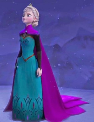 Elsa -Coronaation Dress