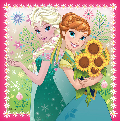 Frozen - Uma Aventura Congelante - Uma Aventura Congelante wallpaper containing animê called Elsa and Anna