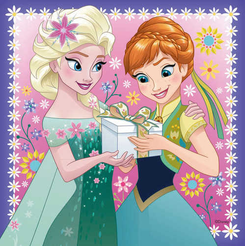 Frozen wallpaper probably containing anime titled Elsa and Anna