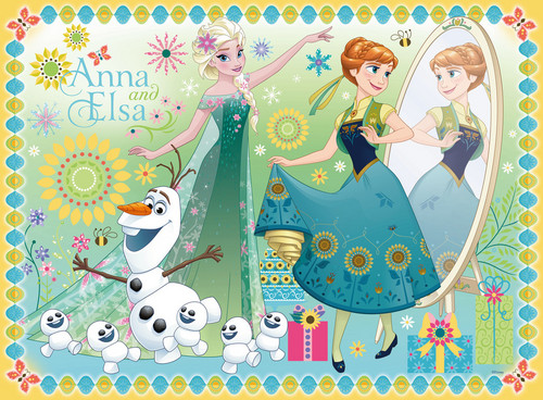 Frozen Fever Hintergrund called Elsa and Anna