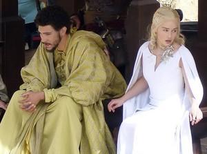 Emilia on GoT Season 5 Set
